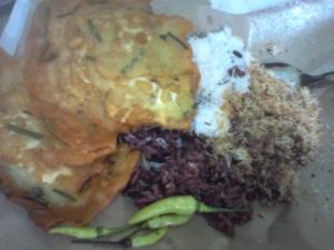 Penampakan dan penampilan nasi karak sekarang